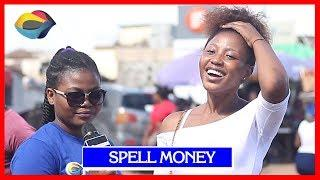 SPELL MONEY | Street Quiz | Funny Videos | Funny African Videos | African Comedy