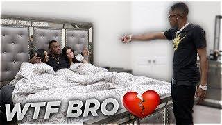 CAUGHT CHEATING IN BED WITH CARMEN FROM CARMEN & COREY PRANK ????