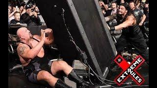 Roman Reigns vs Big Show Extreme Rules Last Man Standing Match HD : WWE Extreme Rules