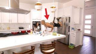 SUPER ENERGY PILL PRANK ON WIFE!!! (HUSBAND GOES CRAZY)????????