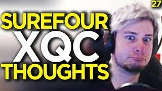 Surefour''s Thoughts on xQc - Overwatch Funny Moments 27