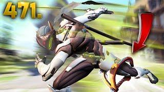 The Unstoppable Genji!! | Overwatch Daily Moments Ep.471 (Funny and Random Moments)