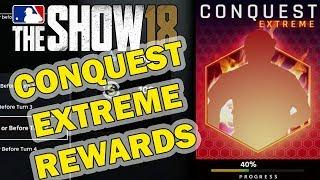 OMG!! INSANE CONQUEST EXTREME REWARDS | MLB 18 DIAMOND DYNASTY