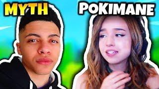 MYTH REPLACES POKIMANE WITH NEW GIRL (CONFIRMED) | Fortnite Daily Funny Moments Ep.38