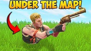 UNDER THE MAP GLITCH! Fortnite Battle Royale Funny Fails and WTF Moments! #6 (Daily Moments)
