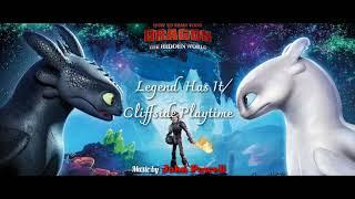 HTTYD The Hidden World Soundtrack - 3. Legend Has It/Cliffside Playtime