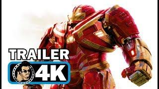 AVENGERS: INFINITY WAR Official Trailer #2 (4K ULTRA HD) Marvel Superhero Movie | 2018