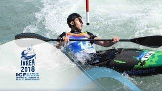 2018 ICF Canoe Slalom Jnr & U23 World Championships Ivrea / Extreme – Men Finals