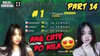 "Rules Of Survival PH Funny Moments - ""Ang Cute Po Nila"" Part 14 (Tagalog)"