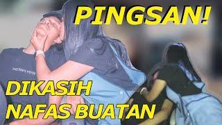 #AB'VLOG35 - PRANK PACAR PINGSAN !! SAMPE DIKASIH NAFAS BUATAN !! KEENAKAN????