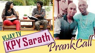 Vijay Tv Kalakka Povathu Yaaru Sarath on 'D' Chat / Prank Call - Motta Rajendran / Full Fun Chat