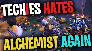 Techies Hates Alchemist AGAIN - DotA 2 Funny Moments