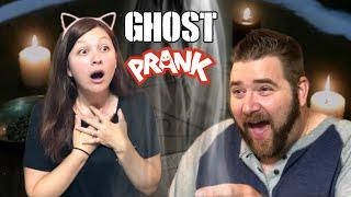 SUMMONED A GHOST PRANK! REAL GHOST STORY GAVE ME CHILLS!