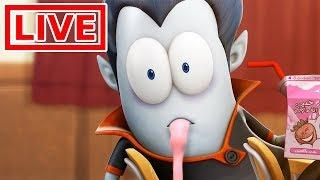 Spookiz LIVE ???? 스푸키즈 | Funny Animated Cartoon | The Most Disgusting Shake | Cartoons for Kids