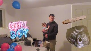 Telling Boyfriend I'm pregnant PRANK ( HE CRIES ) !!!