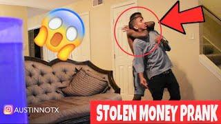 I STOLE YOUR MONEY PRANK!! (GOES WRONG)