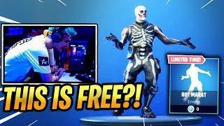 NINJA REACTS *FREE* HOT MARAT EMOTE/DANCE! - Fortnite Epic & Funny Moments (Fortnite Battle Royale)