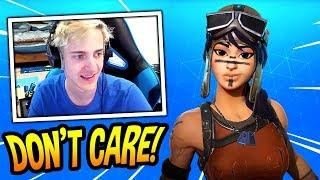 NINJA REACTS TO RENEGADE RAIDER SKIN COMING BACK! *RARE SKIN* Fortnite FUNNY & SAVAGE Moments