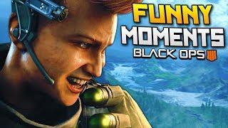 Black Ops 4 Funny Moments - Crossmap Killcam, Rage, Best Player Award! (BO4)