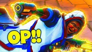 This Proves Ana Is OP!! - Overwatch Funny Moments & Best Plays 80