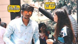 Answering Phone Call From Different Body Parts Prank | Pranks in india