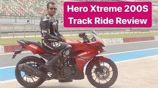 2019 Hero MotoCorp Xtreme 200S - Track Ride Review (Hindi + English)