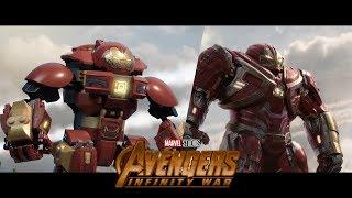LEGO Avengers: Infinity War - Trailer 2 Re-Creation - Side by side version!