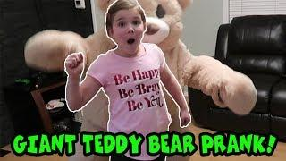 Giant Teddy Bear Prank!!