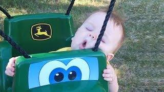 Babies Fall Asleep Everywhere - Funny Baby Video