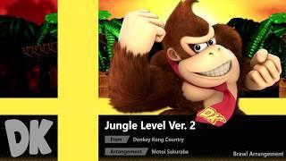 Jungle Level Ver. 2 (Brawl Arrangement) - Super Smash Bros. Ultimate Soundtrack