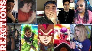 Fans React To Dragon Ball Super Broly Movie ALL Trailers - Trailers 1 - 5 Reaction Mashup