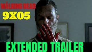 "The Walking Dead 9x05 EXTENDED TRAILER Season 9 Episode 5 Promo/Preview [HD] ""What Comes After"""