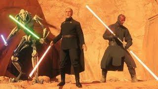Star Wars Battlefront 2 Funny & Random Moments [FUNTAGE] #89 - Count Dooku Mayhem!