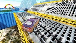 car racing game for kids - Extreme Impossible Car Racing Stunts Simulator   Car racing gameplay