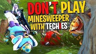 Don't Play Minesweeper with Techies - DotA 2 Funny Moments