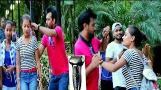 Shaving People's Heads Prank! - Gone Worng In Kolkata - Pranks In India  By TCI
