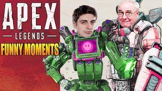 Apex Legends Funny Moments & Epic Fails ,WTF Moments, Twitch Highlights Compilation! #21