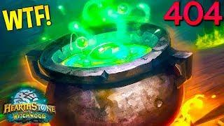 Hearthstone Daily WTF Funny Moments 404! Lucky and Epic Plays!