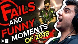 Best Esports Fails and Funny Moments of 2018 (League of Legends, CS:GO, Rainbow Six Siege and more)