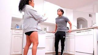 """""""MY EX USE TO DO THAT!"""" (PRANK ON HUSBAND)"""