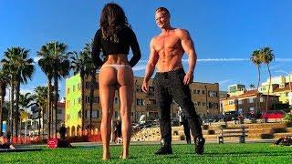 Bodybuilder Digger Prank on Girls She Dump Her BF For It !!