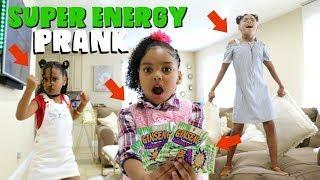 SUPER ENERGY PRANK !!!! (SUPER FUNNY)