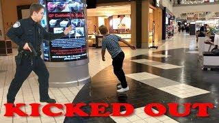 SKATEBOARDING IN THE MALL (KICKED OUT)