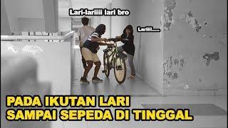 PADA IKUTAN LARI PADAHAL TIDAK ADA APA-APA ????- PRANK INDONESIA- CUPSTUWERD