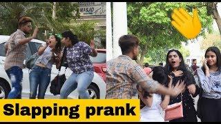 "Slapping Prank on Cute Girl""s #????????Prank Gone Wrong - Prank in india 