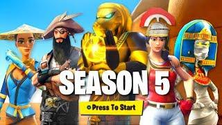 *NEW* SEASON 5 OFFICIAL BATTLE PASS THEME! (Fortnite: Battle Royale Season 5)