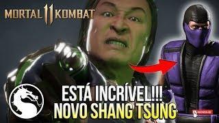 MORTAL KOMBAT 11 - SAIU TRAILER DO SHANG TSUNG E ESTÁ INCRÍVEL - DLC TRAILER