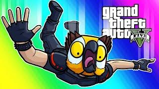 GTA5 Online Funny Moments - Impossible Windmill Death Run!