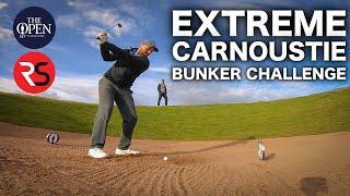 EXTREME CARNOUSTIE BUNKERS CHALLENGE - Rick Shiels Vs Peter Finch