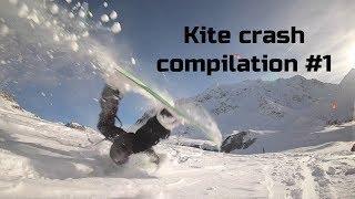 Kite crash compilation #1